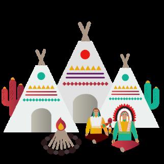 Image gauche tribu