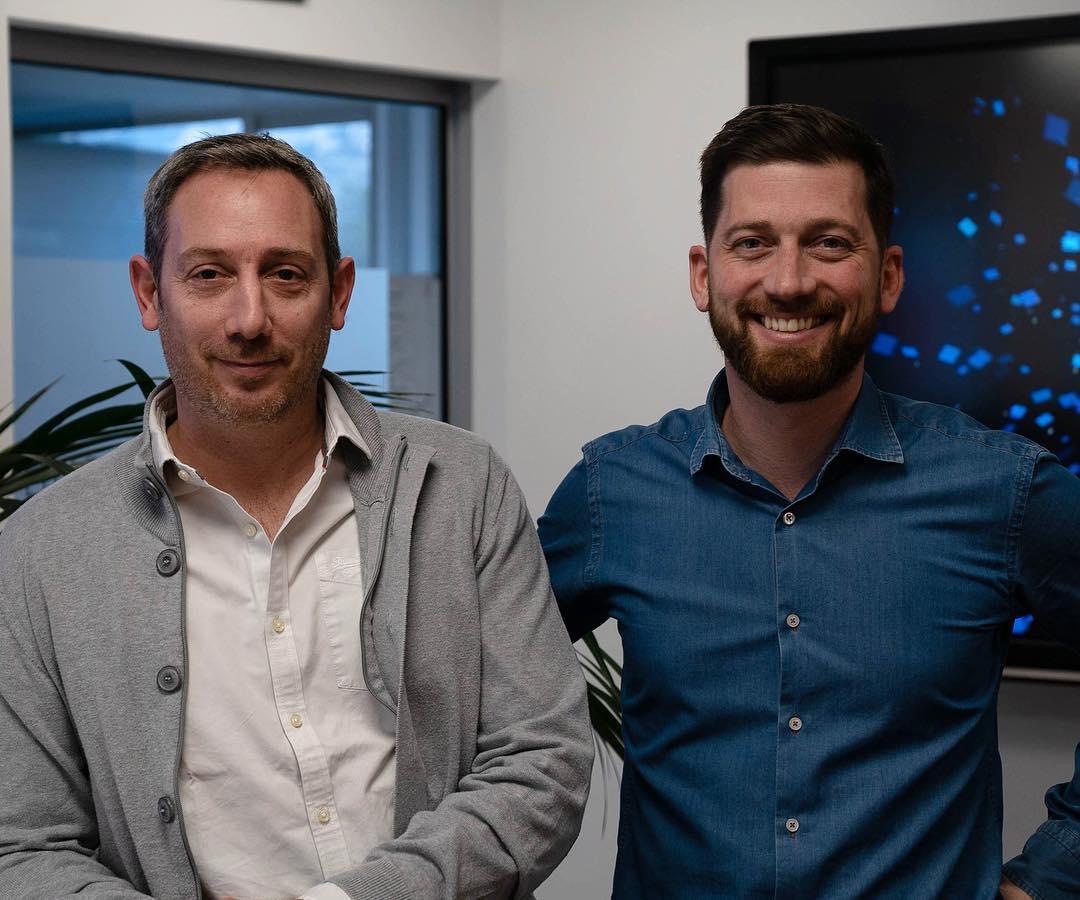 Les fondateurs de la startup Carbookr