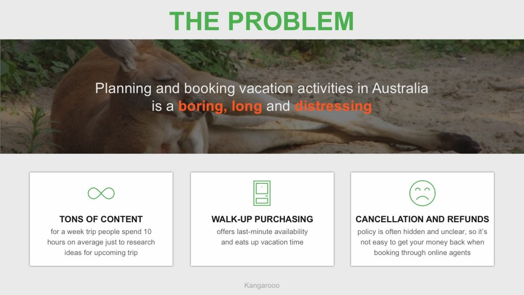 Pitch deck startup kangarooo solution