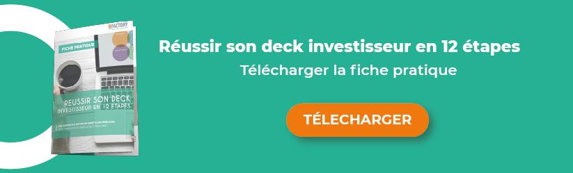 Pitch Deck investisseur